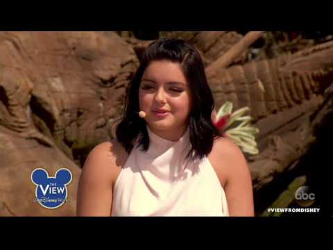 Ariel Winter talks on 'Dog Years' on The View