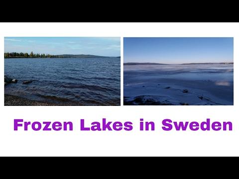 Winter in Sweden, Frozen Lakes in Sweden, Study in Sweden, Study in Europe,