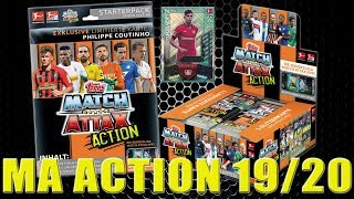 Topps MATCH ATTAX ACTION 19/20 | MEGA STARTER PACK + DISPLAY BOX | Unboxing