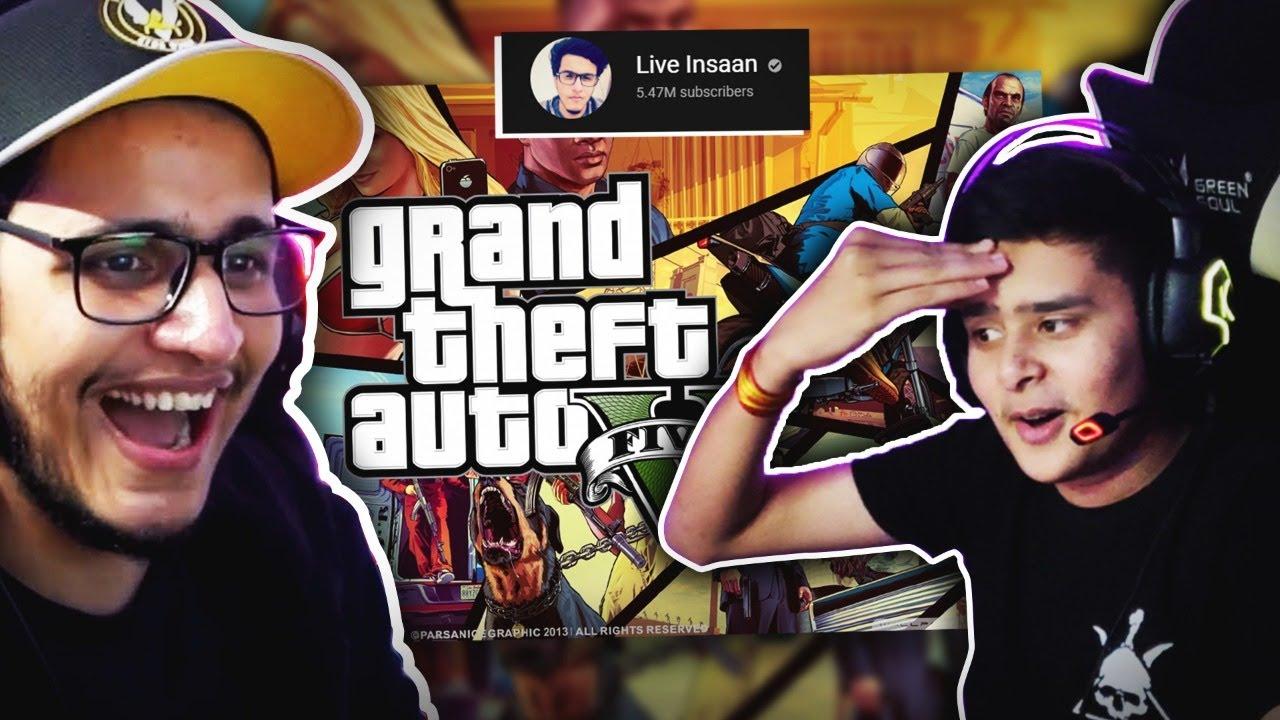 Download GTA V Live with @Live Insaan | !triggu