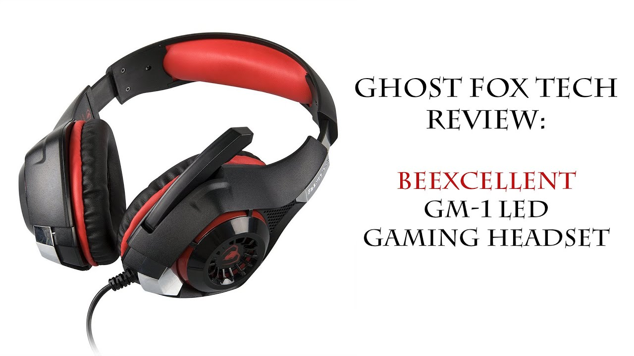 Beexcellent GM-1 LED Gaming Headset – Ghost Fox Tech