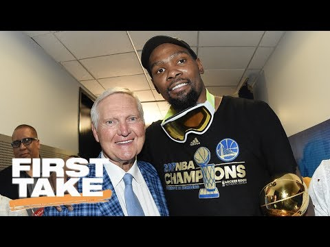 Thumbnail: Jerry West Leaves Warriors For Clippers | First Take | June 15, 2017