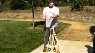 Make Labs: Floating Arm Trebuchet -gopro Camera Launch