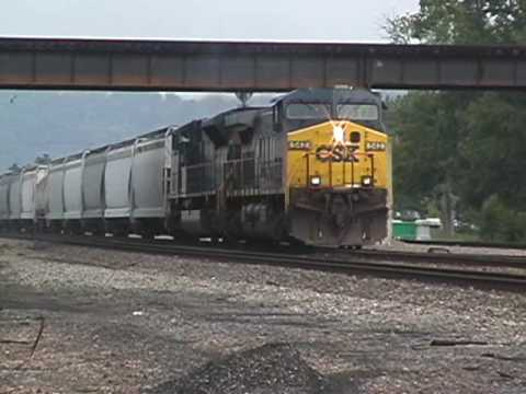 CSX freight at Kenova, WV