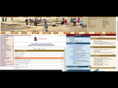 CHECKING MGNREGA FUND BALANCE