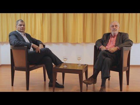 Rafael Correa con Atilio Borón | Entrevista
