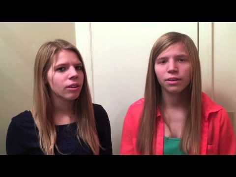 Ashley and Alyssa Parker- I Will Rise - duet with twin sisters
