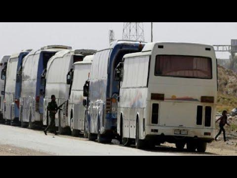 إجلاء مقاتلي -جيش الإسلام- من بلدة الضمير في ريف دمشق  - نشر قبل 2 ساعة