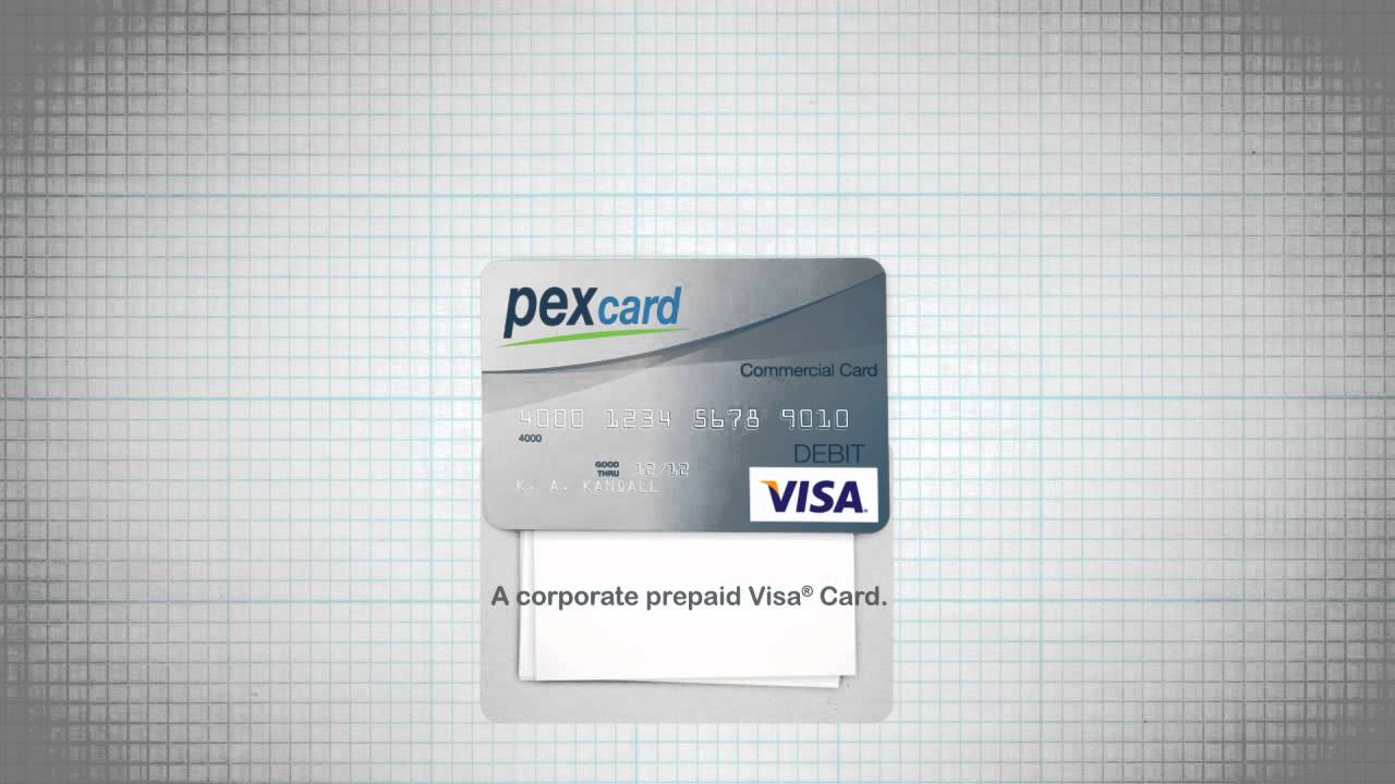 Pex card the corporate visa prepaid card for business youtube colourmoves