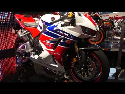 Premiere Honda CBR 600 RR 2013 - EICMA 2012