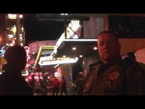 Nevada Cop Block with the LVMPD Gang Unit (Raw Video)