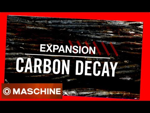 CARBON DECAY - Expansion All Kits - Native Intruments Demo #NI #maschine #battery #demo #kit #drums