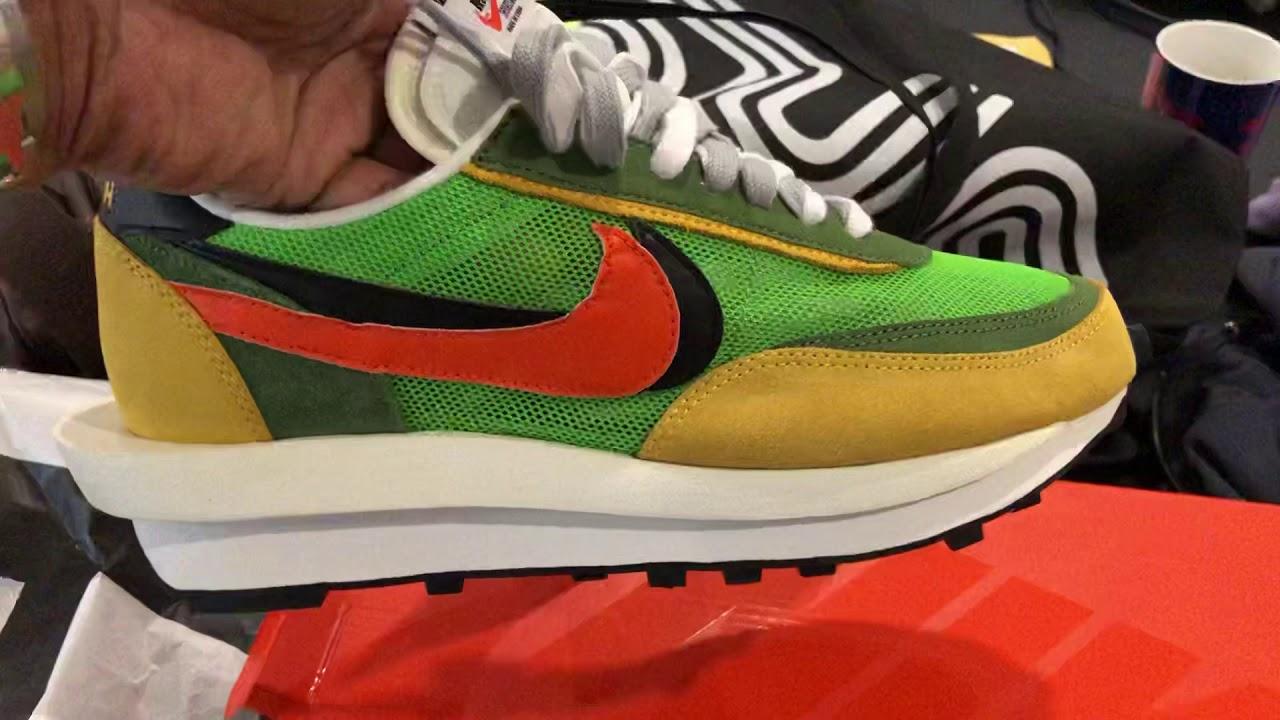 Nike LD Waffle Sacai (On the foot and
