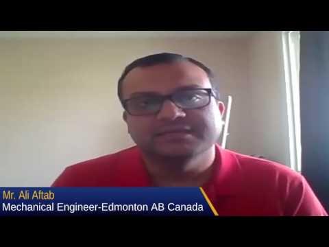 Meet Graceland Housing Member Mr Ali Aftab Mechanical Engineer From Edmonton Canada