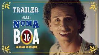 Trailer No Curso de Garçom | #QuaseNumaBOA | BOA thumbnail