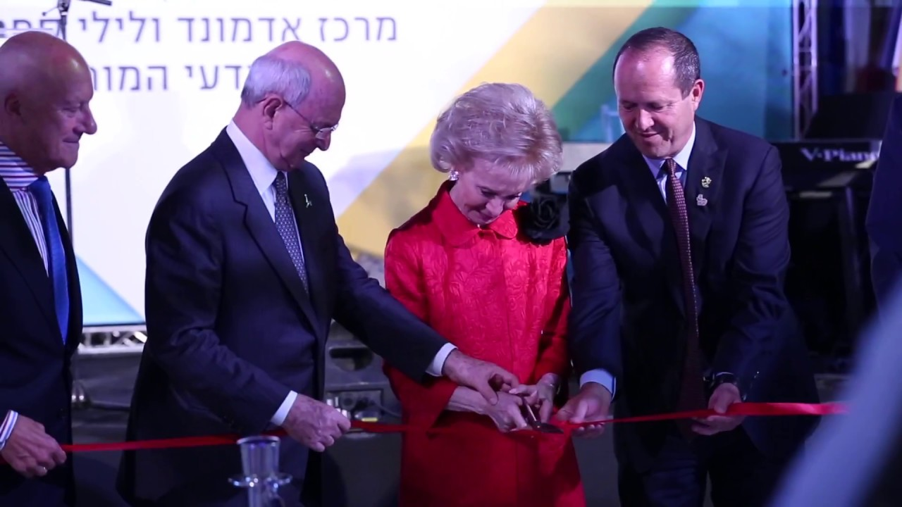 Mrs lily safra dedicates the new home of elsc hebrew university campaign