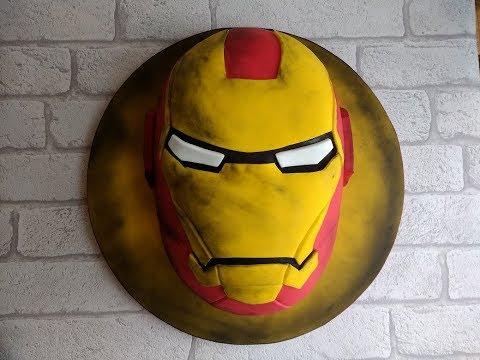 Iron Man Cake . . . how to
