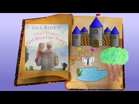 Don't Forget, God Bless Our Troops by Jill Biden: Children's Books Read Aloud on Once Upon A Story