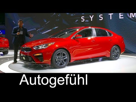 All-new Kia Forte REVIEW 3rd generation 2019 compact sedan - NAIAS 2018 - Autogefühl - Dauer: 19 Minuten