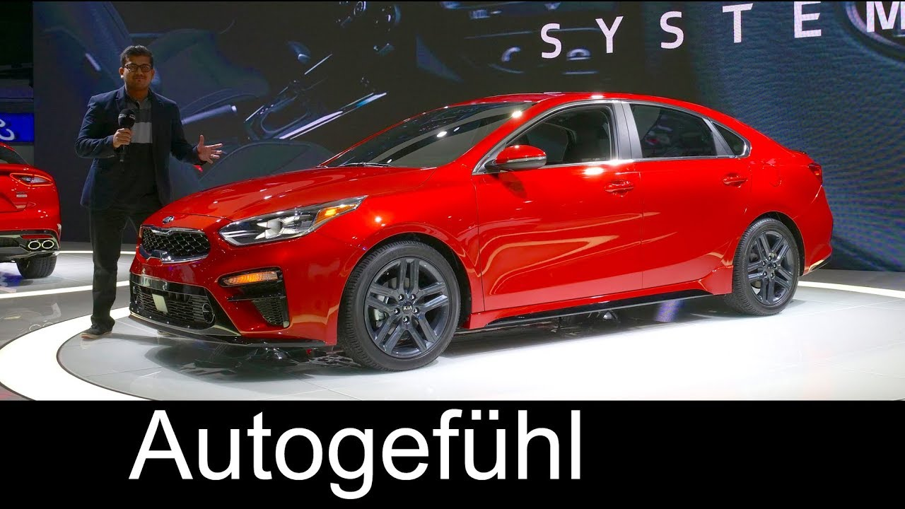 All-new Kia Forte REVIEW 3rd generation 2019 compact sedan - NAIAS 2018 - Autogefühl - Dauer: 19 Minuten