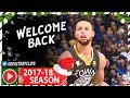 Download Stephen Curry RETURNS, Full Highlights vs Grizzlies (2017.12.30) - 38 Pts in 23 Minutes!