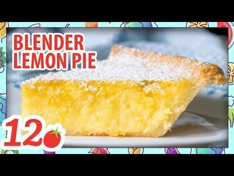 How to Make: Blender Lemon Pie