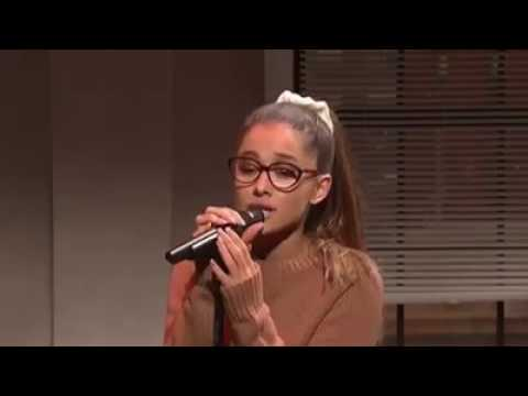Watch Ariana Grande Cover a famous song. HILARIOUS!