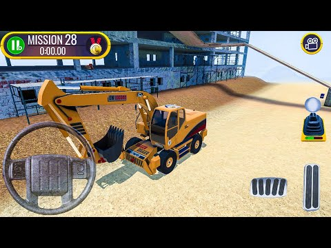 Construction Site Truck Driver New Car (Excavator) - Android Gameplay FHD