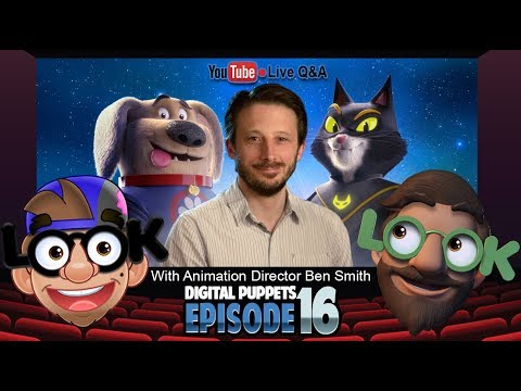 LOOK Digital Puppets   Ep 16   LIVE Q&A with Animation Director Ben Smith