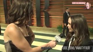 엘렌 페이지(Ellen Page) at the 2014 Vanity Fair Oscar Party