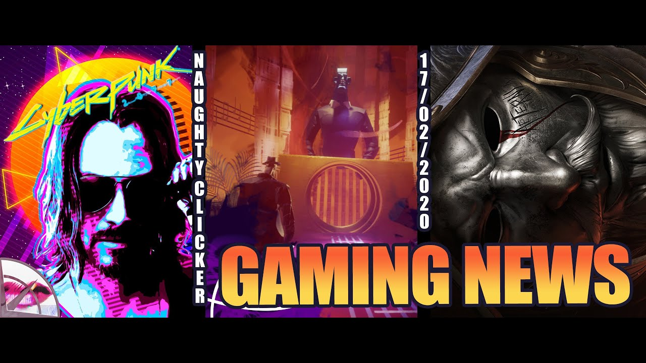 Gaming News | PS4 Dreams Update, Cyberpunk 2077 Street Stories, Shadow Arena | Naughty Clicker
