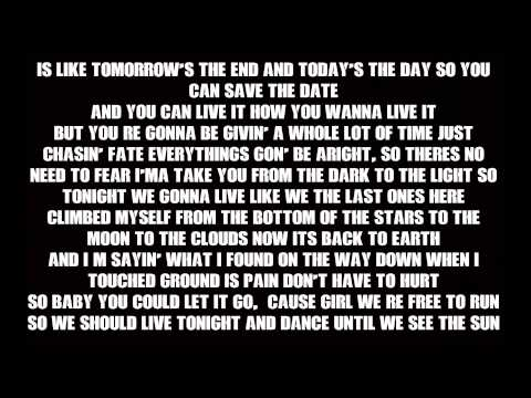 Timeflies  Tuesday -  Until The  Sunrise  Lyric Video