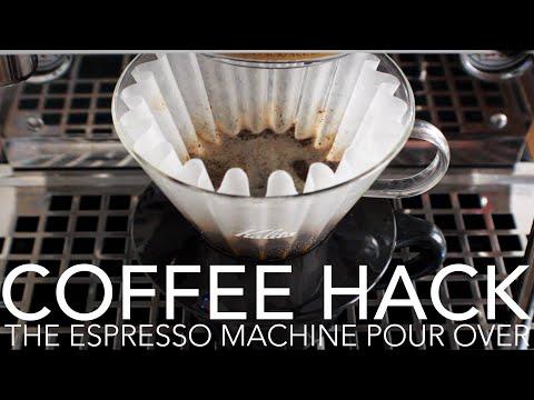 COFFEE HACK - The Espresso Machine Pour Over