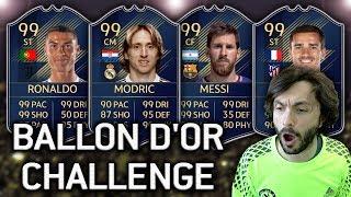 IZBOR ZA NAJBOLJEG IGRAČA NA SVIJETU! FIFA 19 DRAFT Ballon d'Or Challenge