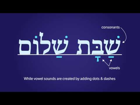 Learn To Read Hebrew Lesson
