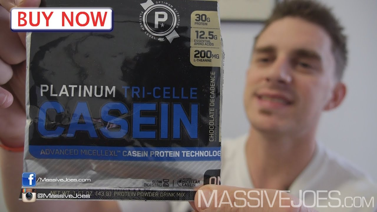 Optimum Nutrition Platinum Tri Celle Micellar Casein