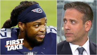 Max Kellerman isn't giving Derrick Henry a chance to win NFL MVP | First Take