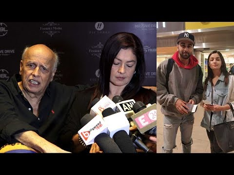 Finally mahesh bhatt and pooja bhatt talk about alia bhatt marriage