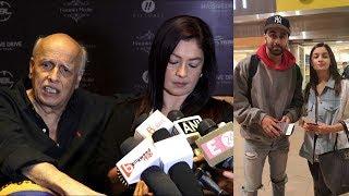Finally mahesh bhatt and pooja bhatt talk about alia bhatt marriage