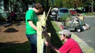 Swoop Creating A Playground & Garden Area In Se Raleigh..mp4