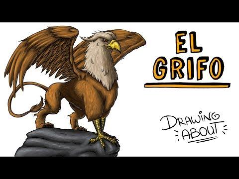 EL GRIFO DE LA MITOLOGÍA GRIEGA | Draw My Life