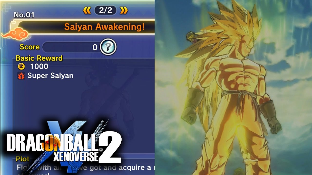Dragon Ball Xenoverse 2 How To Get Super Saiyan Easy How To Get Super Saiyan 3 Youtube