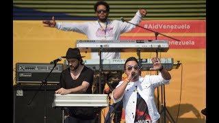 Luis Fonsi en Venezuela Aid Live