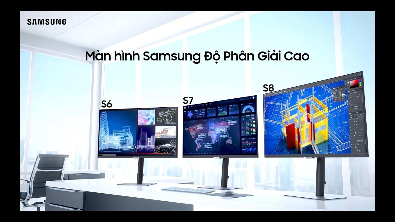 Màn Hình Độ Phân Giải Cao: Bức phá hiệu năng mạnh mẽ | Samsung