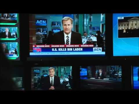 "The Newsroom - ""OBL reportable. Knock 'em dead just like we did."""