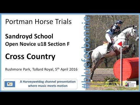 Portman Horse Trials: Novice Cross Country Section E