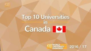Top 10 Universities in Canada 2016/17 thumbnail
