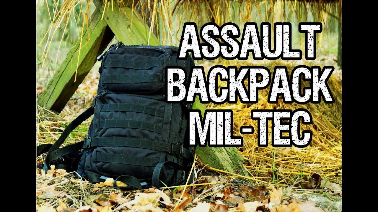 387a4cc3c3aff Assault Plecak Taktyczny | Mil-tec - Prezentacja i recenzja sprzętu ...