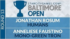 SCGBALT: Round 13 - Jonathan Rosum vs Anneliese Faustino [Modern]