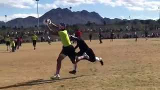 Drew Kobayashi; Pylon 7 on 7 flag football tournament Las Vegas 2/28-29/15